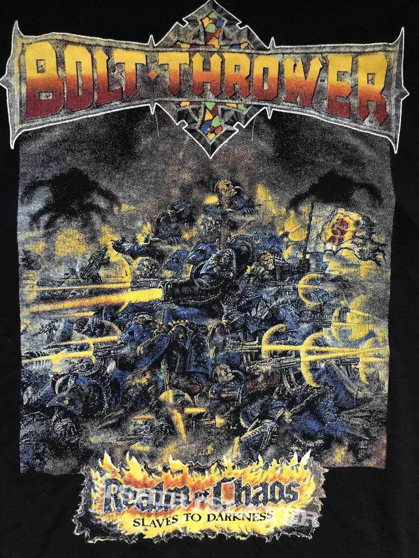 Bolt Thrower - realm of chaos - shirt