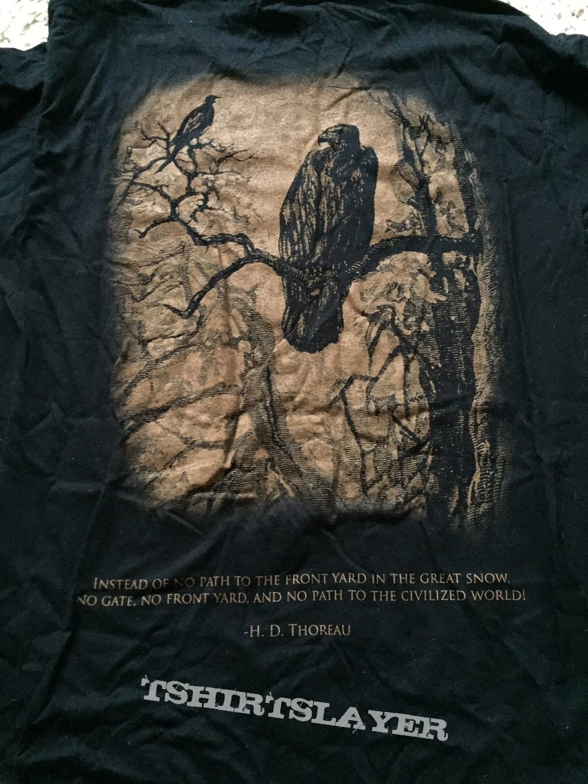 Agalloch - Of Stone, Wind, and Pillor t-shirt