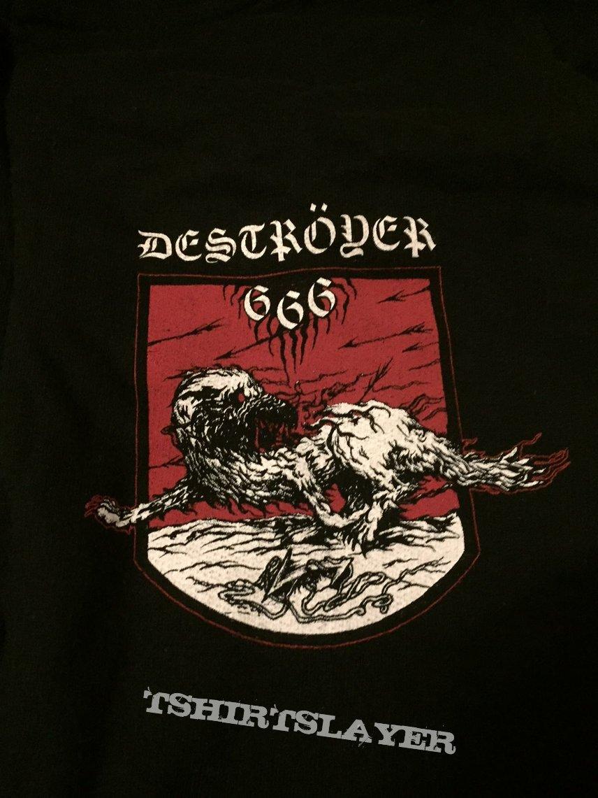 Deströyer 666 - Werewolf Power zip-hoodie