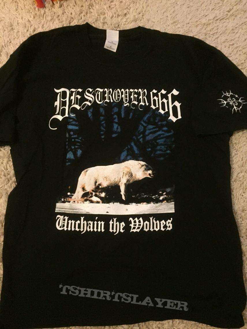 Deströyer 666 - Unchain the Wolves t-shirt