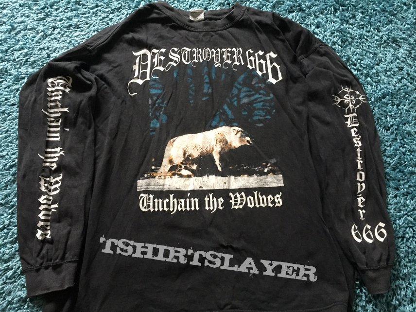 Deströyer 666 - Unchain the Wolves longsleeve