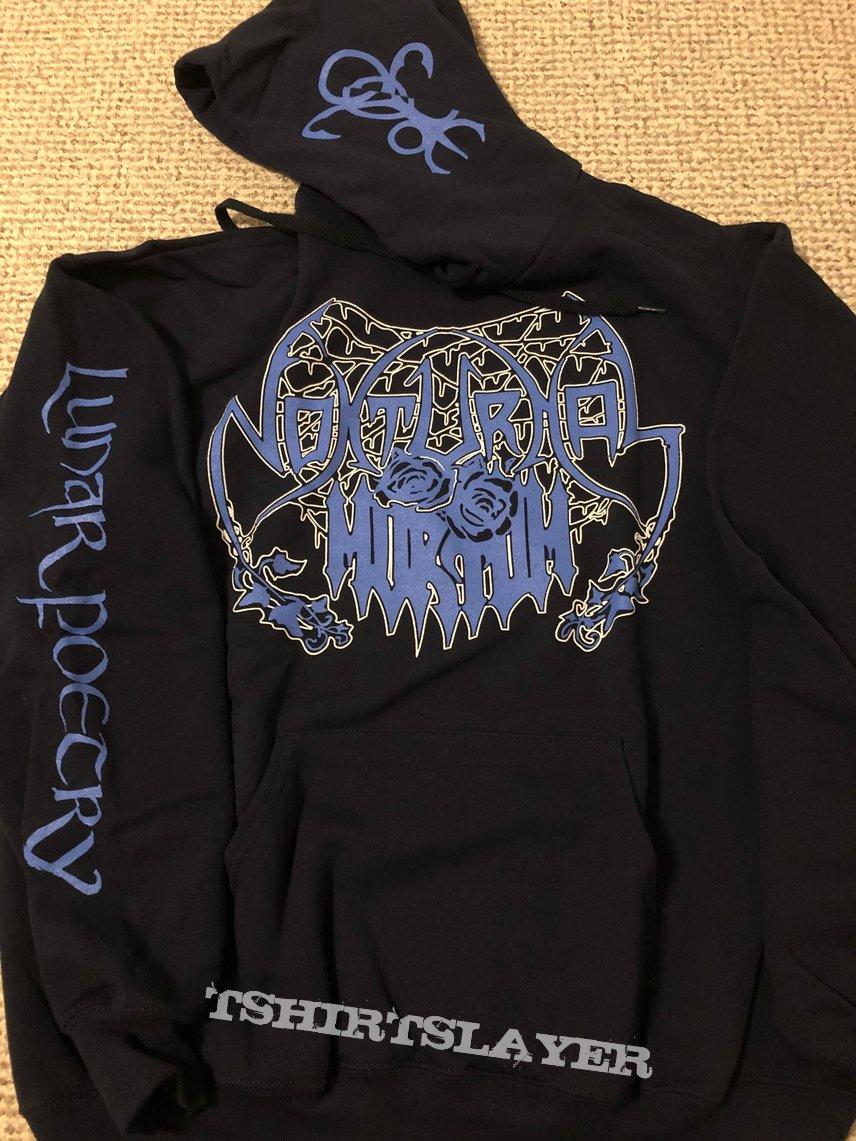 Nokturnal Mortum - Lunar Poetry (old logo) hoodie