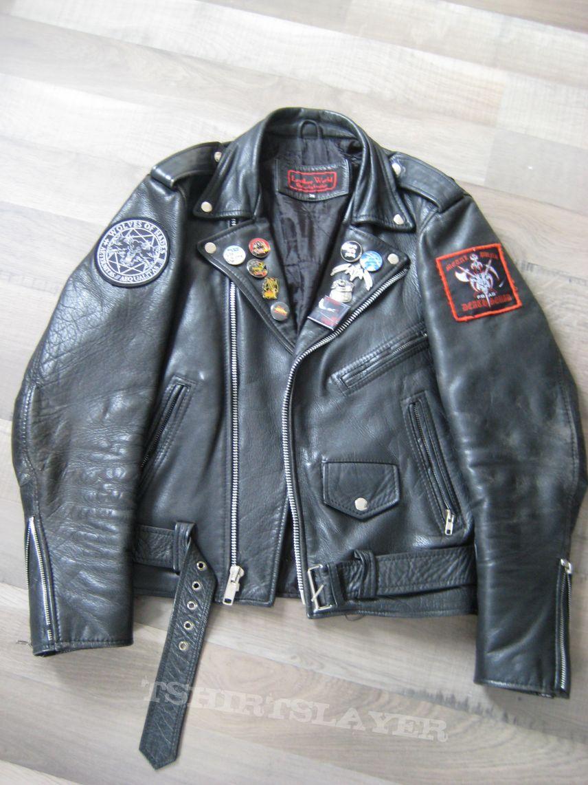PUR3 THR4SH3R's Bathory, Mot  rhead, Judas Priest, Leather Jacket