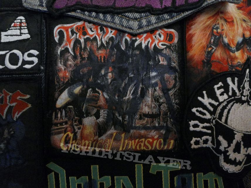 battle jacket The Saw Is The Law