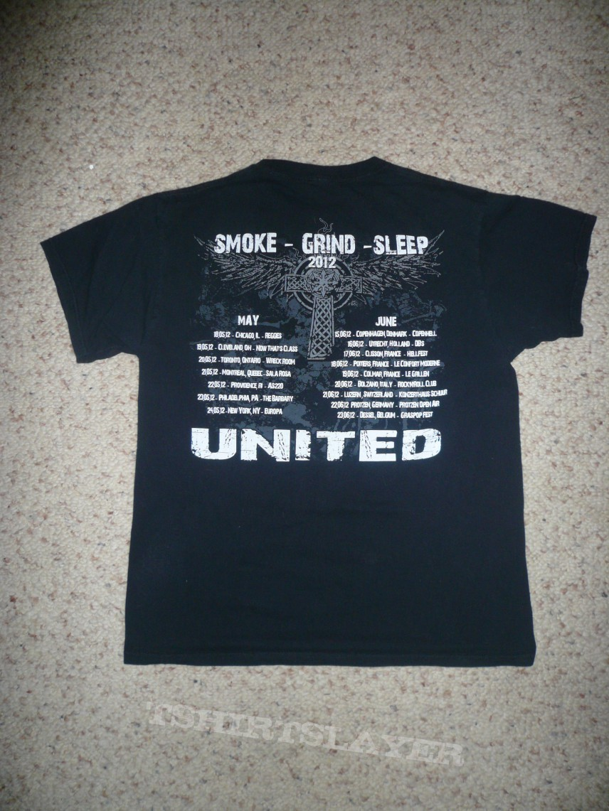 TShirt or Longsleeve - Brutal Truth-Smoke Grind Sleep 2012 Tour Shirt