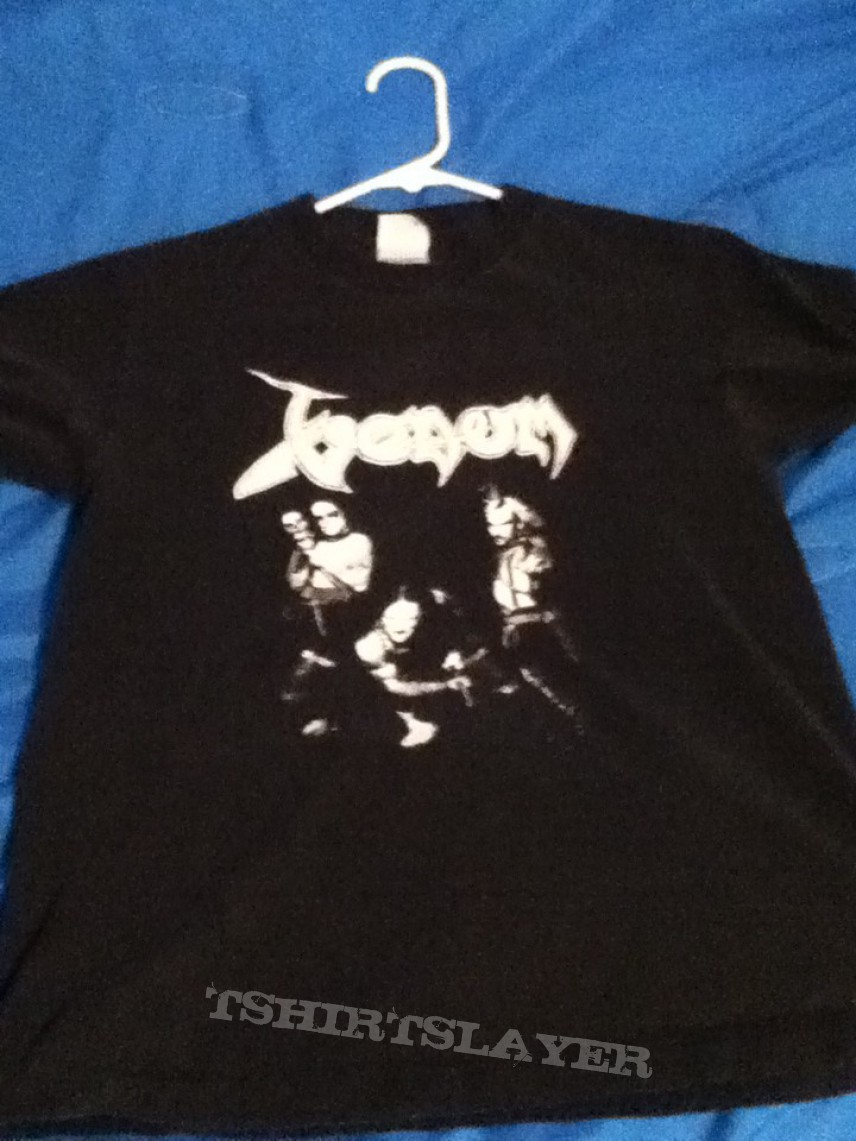 TShirt or Longsleeve - Venom-Band Photo Shirt