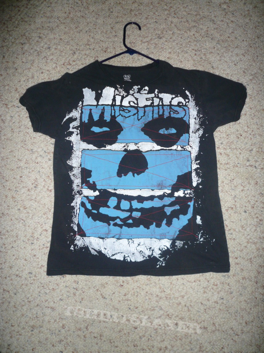TShirt or Longsleeve - Misfits-Odd Blue and White design