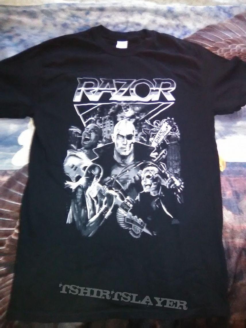 Razor- Album collage (t-shirt)
