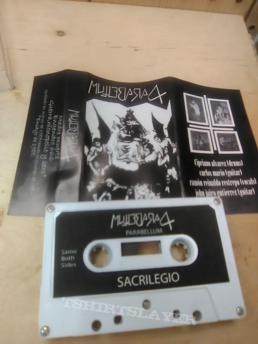 Parabellum - Sacrilegio (Tape)