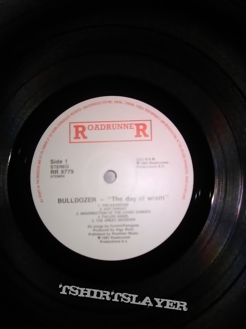 Bulldozer - The Day of Wrath (1985 Roadrunner LP)
