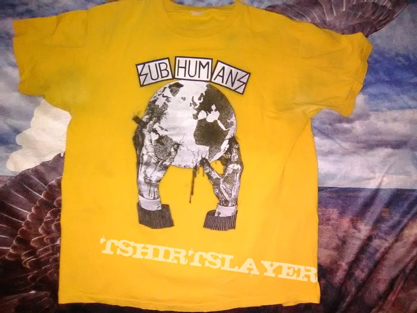 Subhumans - Worlds Apart (shirt)