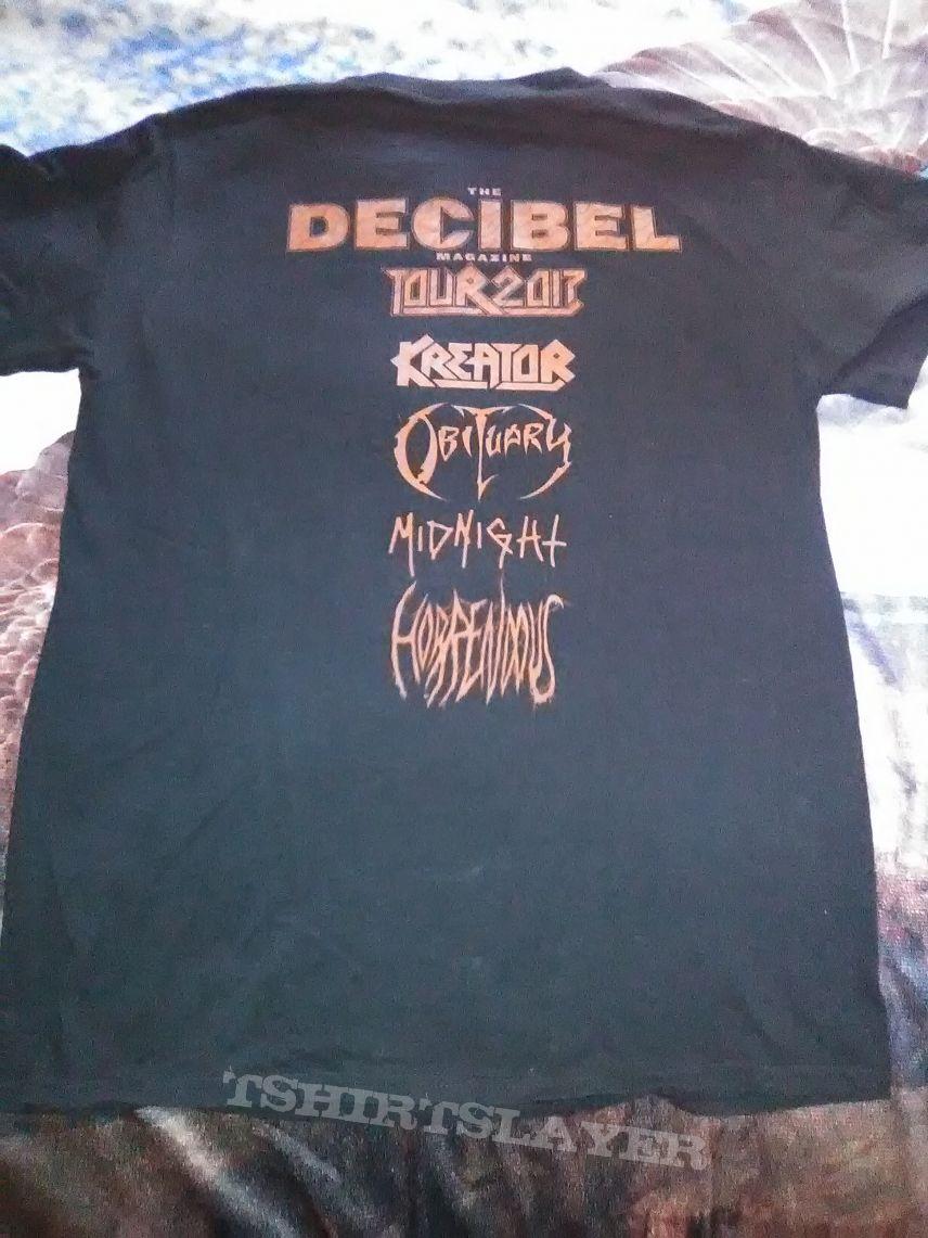 The Decibel Magizine Tour 2017 (t-shirt)