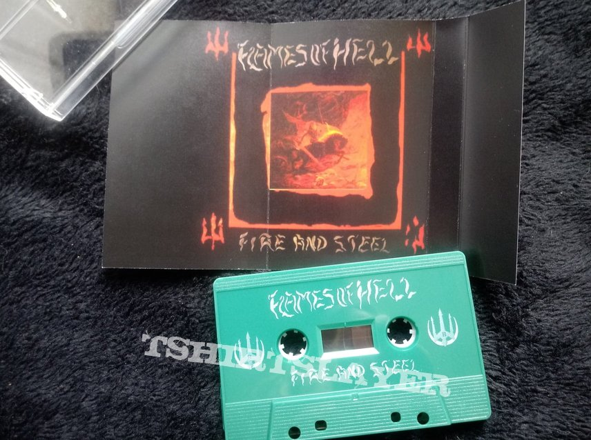 Flames of Hell - Fire and Steel (Tape)