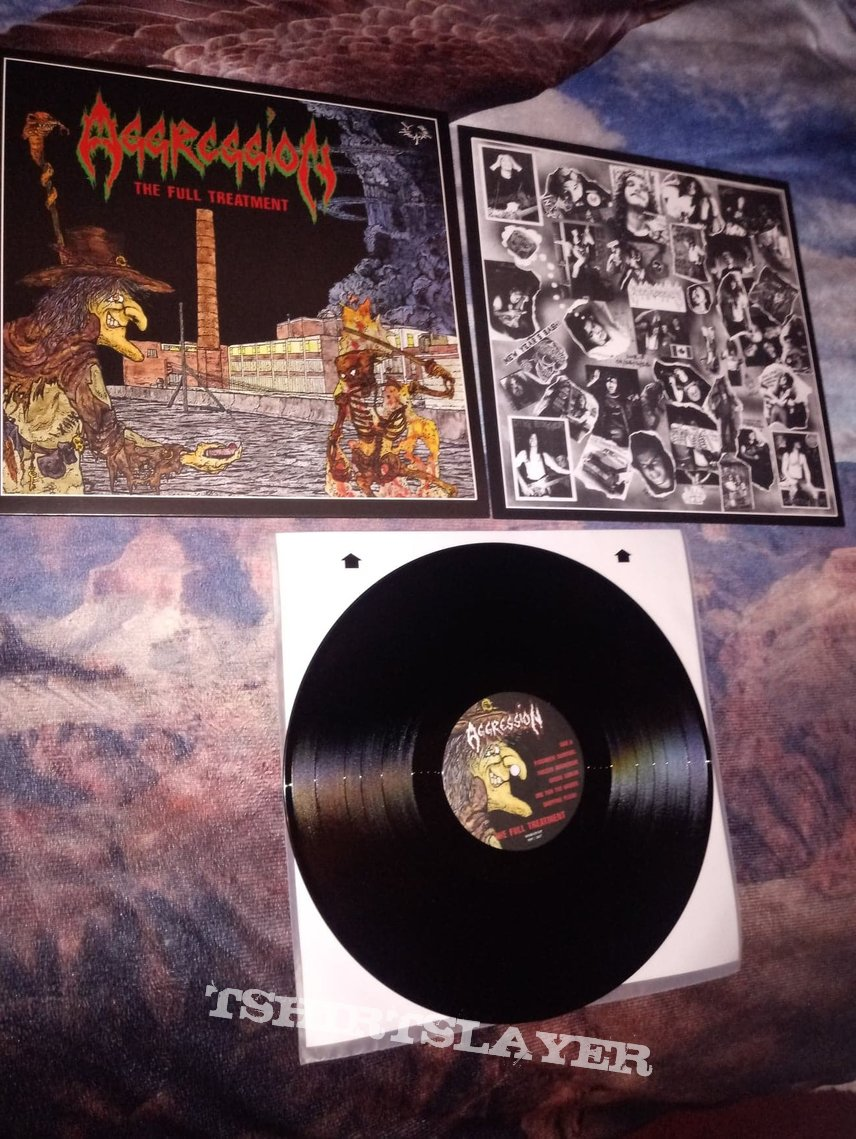 Aggression - The Full Treatment (LP)