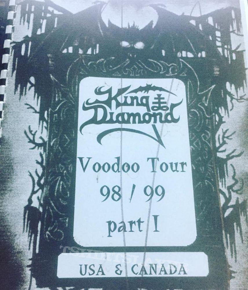 King Diamond - Voodoo Itinerary Tour Book
