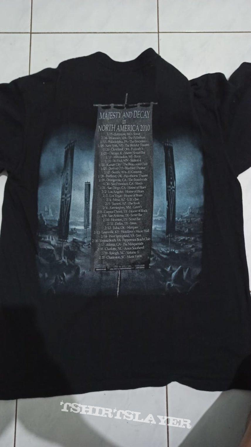 Immolation tour 2010
