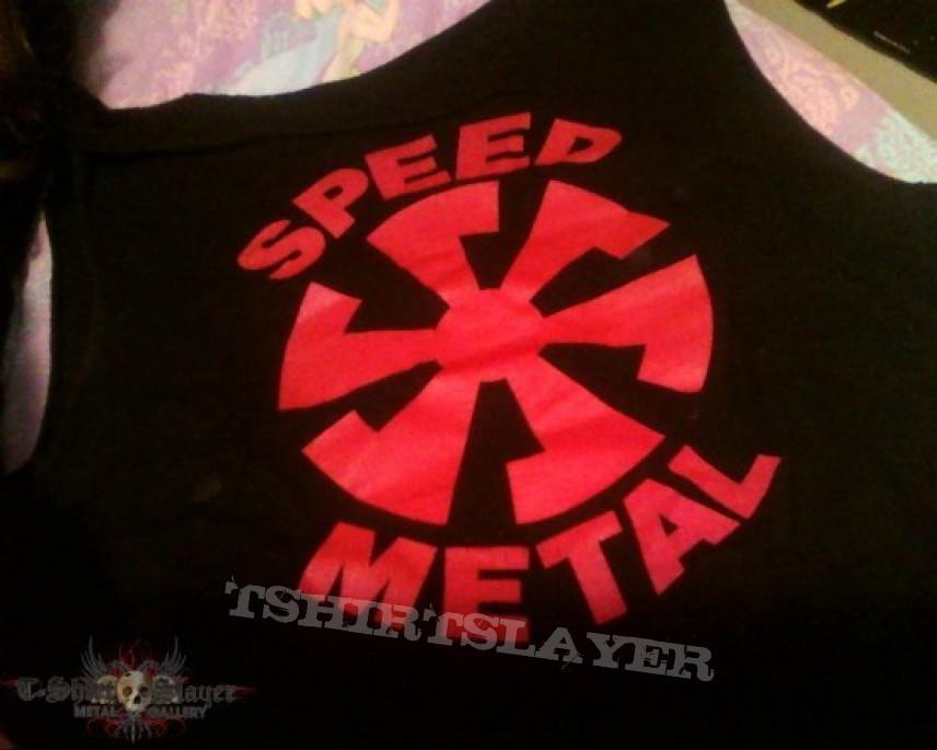 TShirt or Longsleeve - Speed Metal logo