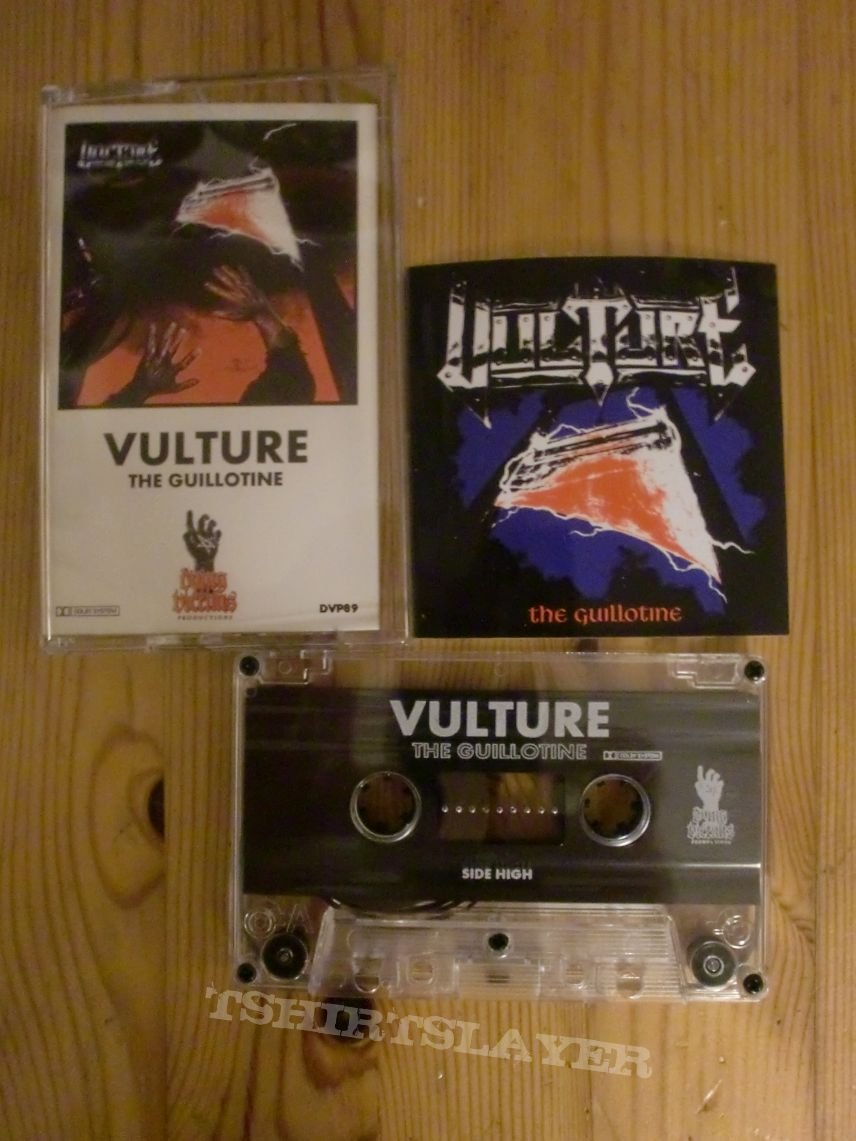 "Vulture - "" The Guillotine"" Tape + Sticker"