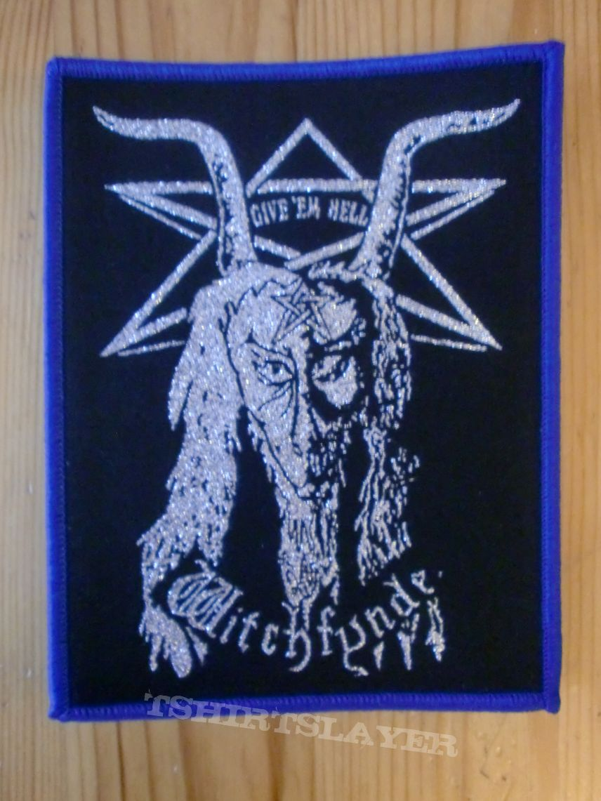 """Witchfynde - """"Give 'Em Hell"""" Patch"""