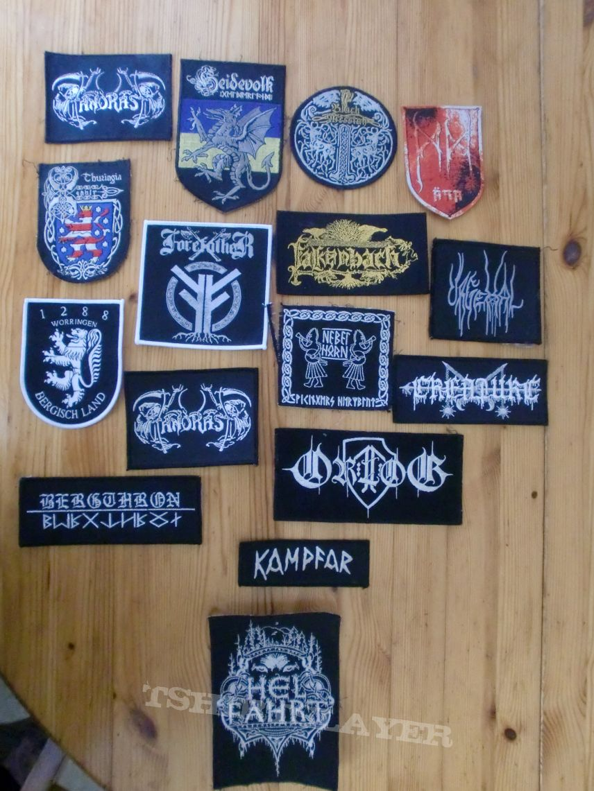 Pagan/Black/Viking Metal Patches III