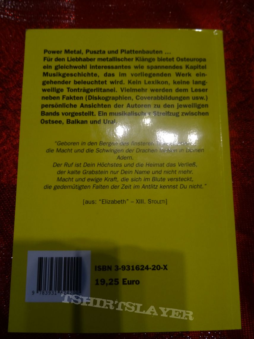 Heavy Metal Aus Osteuropa (Heavy Metal From Eastern Europe) Book