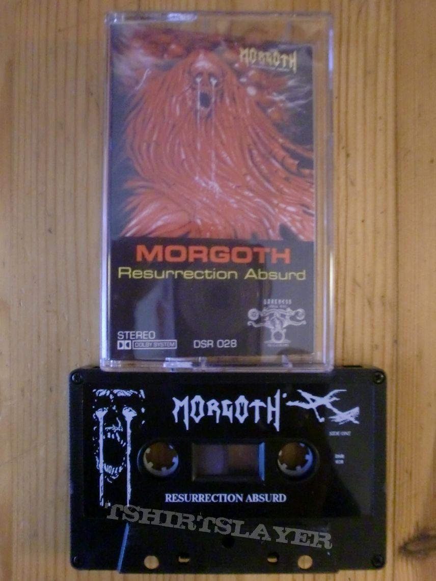 """Morgoth - """"Resurrection Absurd"""" Tape"""
