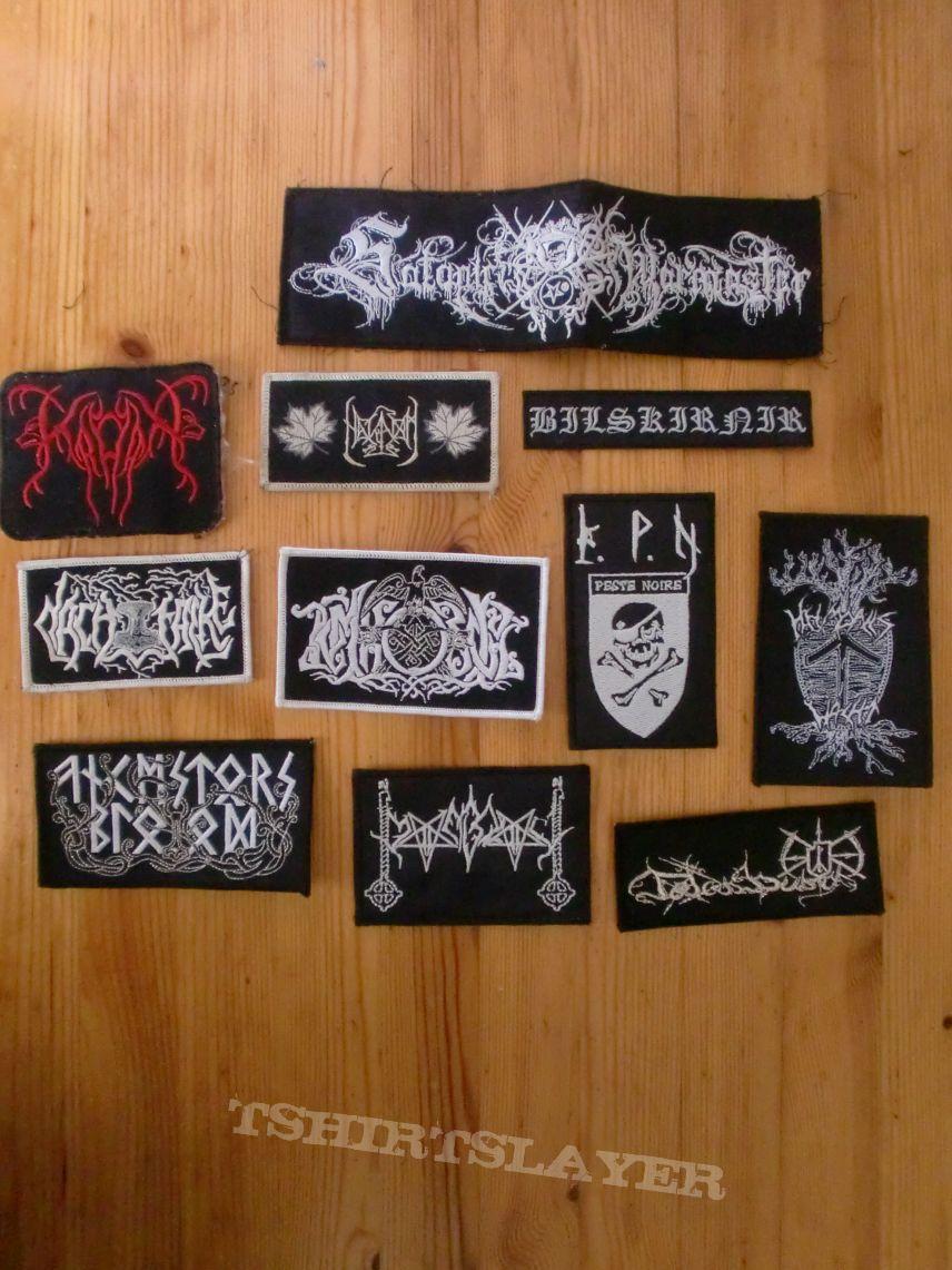 Pagan/Black/Viking Metal Patches V