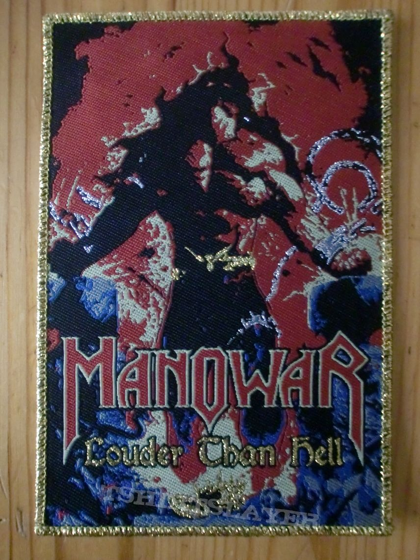 "Manowar - ""Louder Than Hell"" Patch"