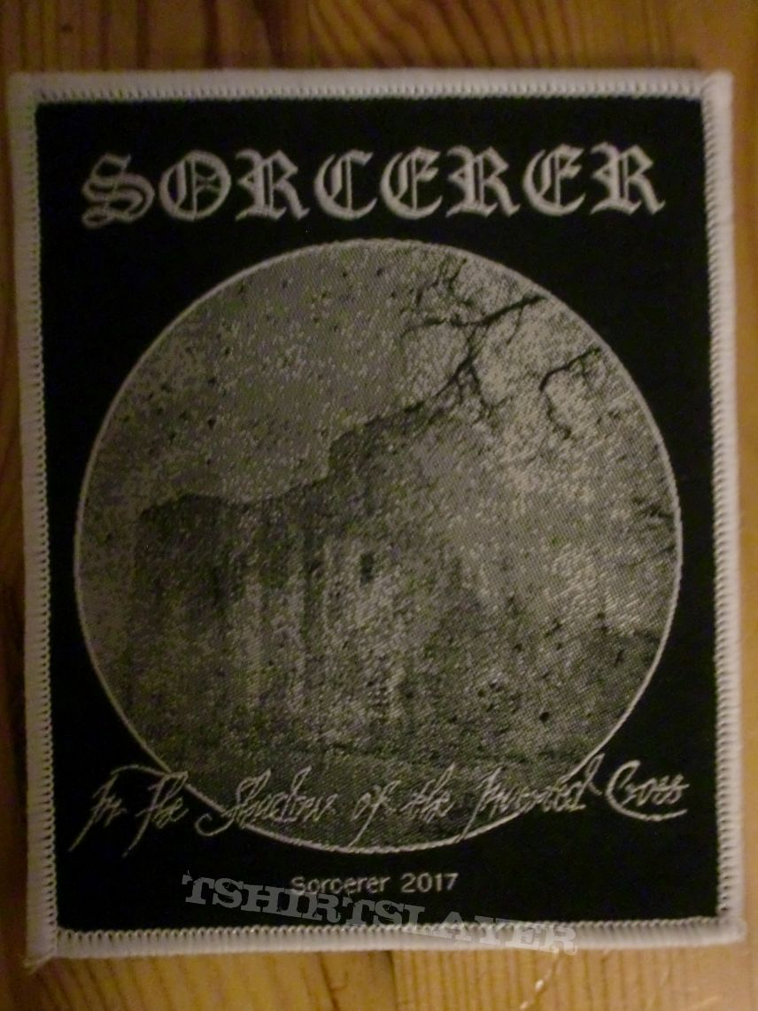 "Sorcerer - ""In The Shadow Of The Inverted Cross"" Patch"