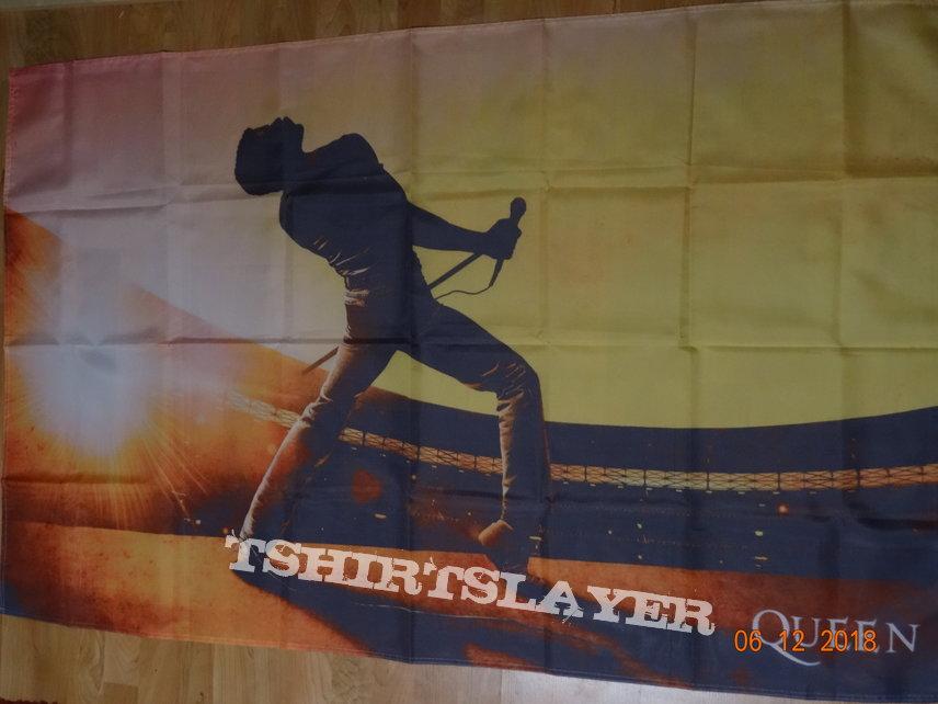 """Queen - """"Freddy"""" Flag"""