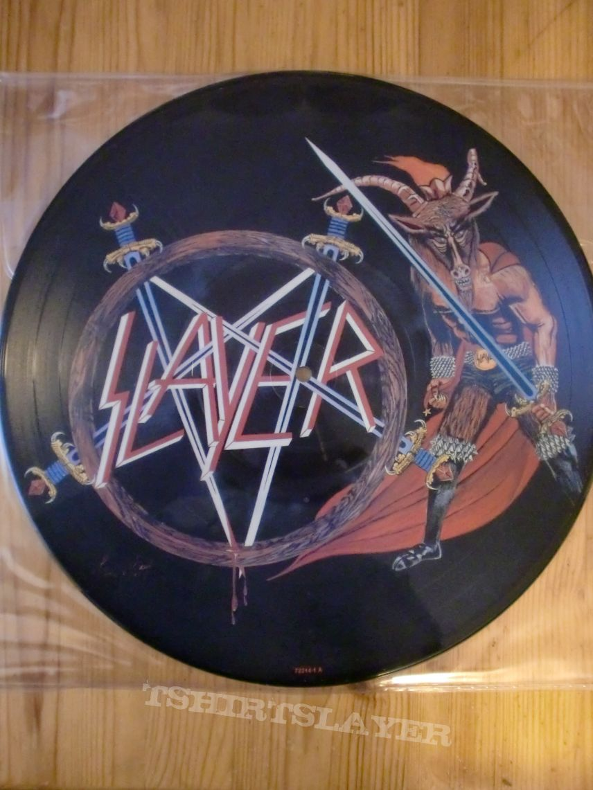 "Slayer - ""Show No Mercy"" Picture Vinyl"