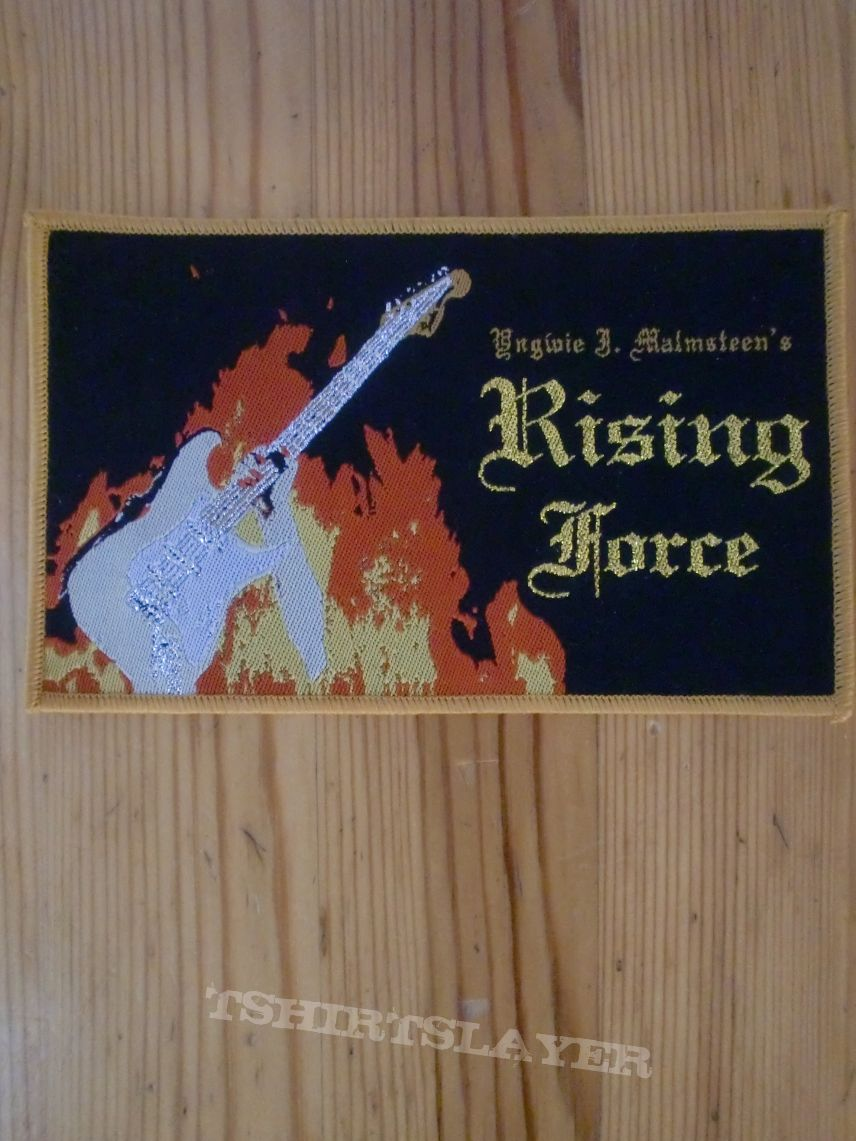 Yngwie Malmsteens Rising Force Patch