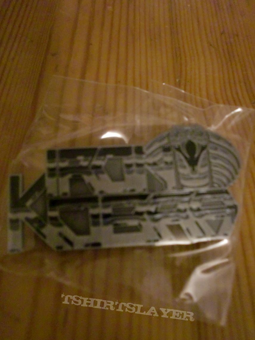 Iron Kobra - Logo Metal Pin