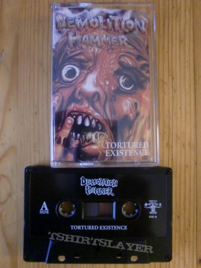 """Demolition Hammer - """"Tortured Existence"""" Tape"""