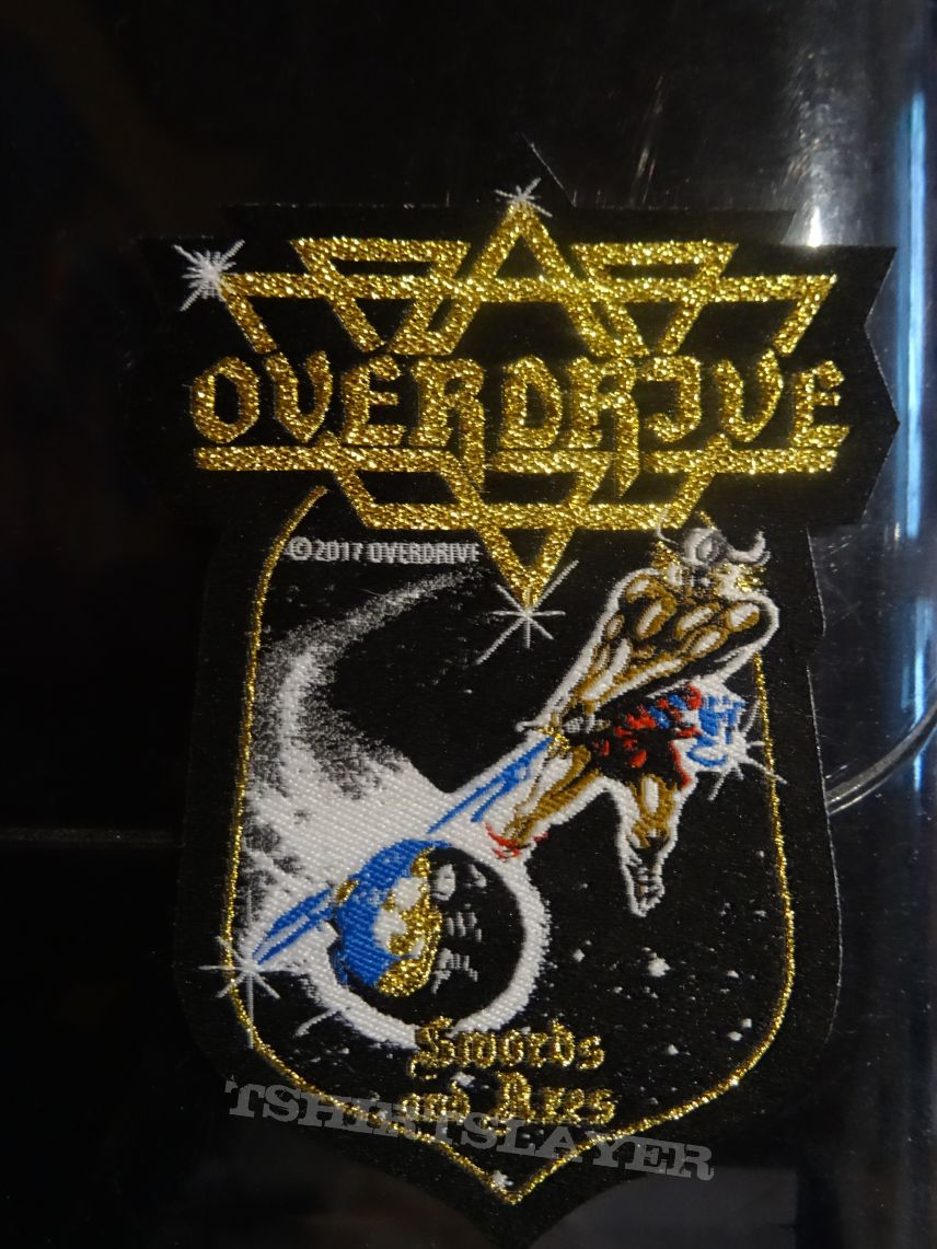 "Overdrive - ""Swords And Axes"" Patch"
