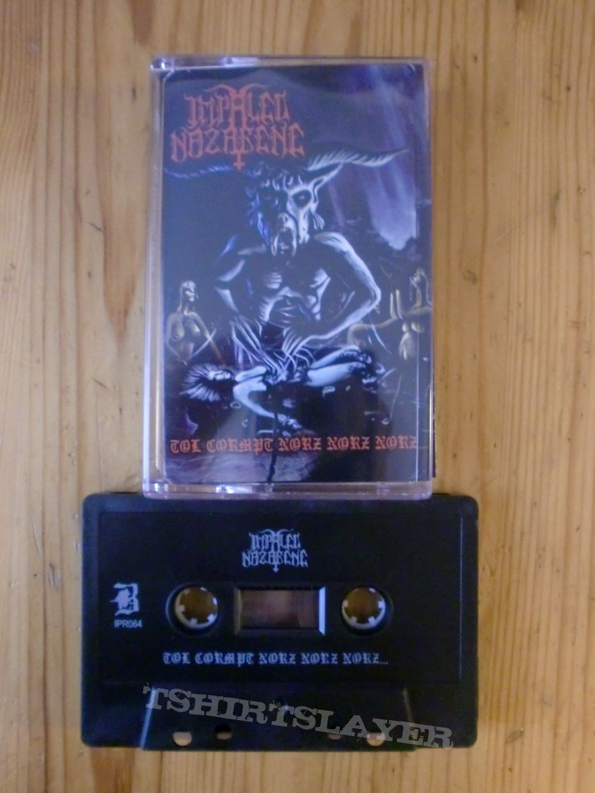 "Impaled Nazarene - ""Tol Cormpt Norz Norz Norz"" Tape"