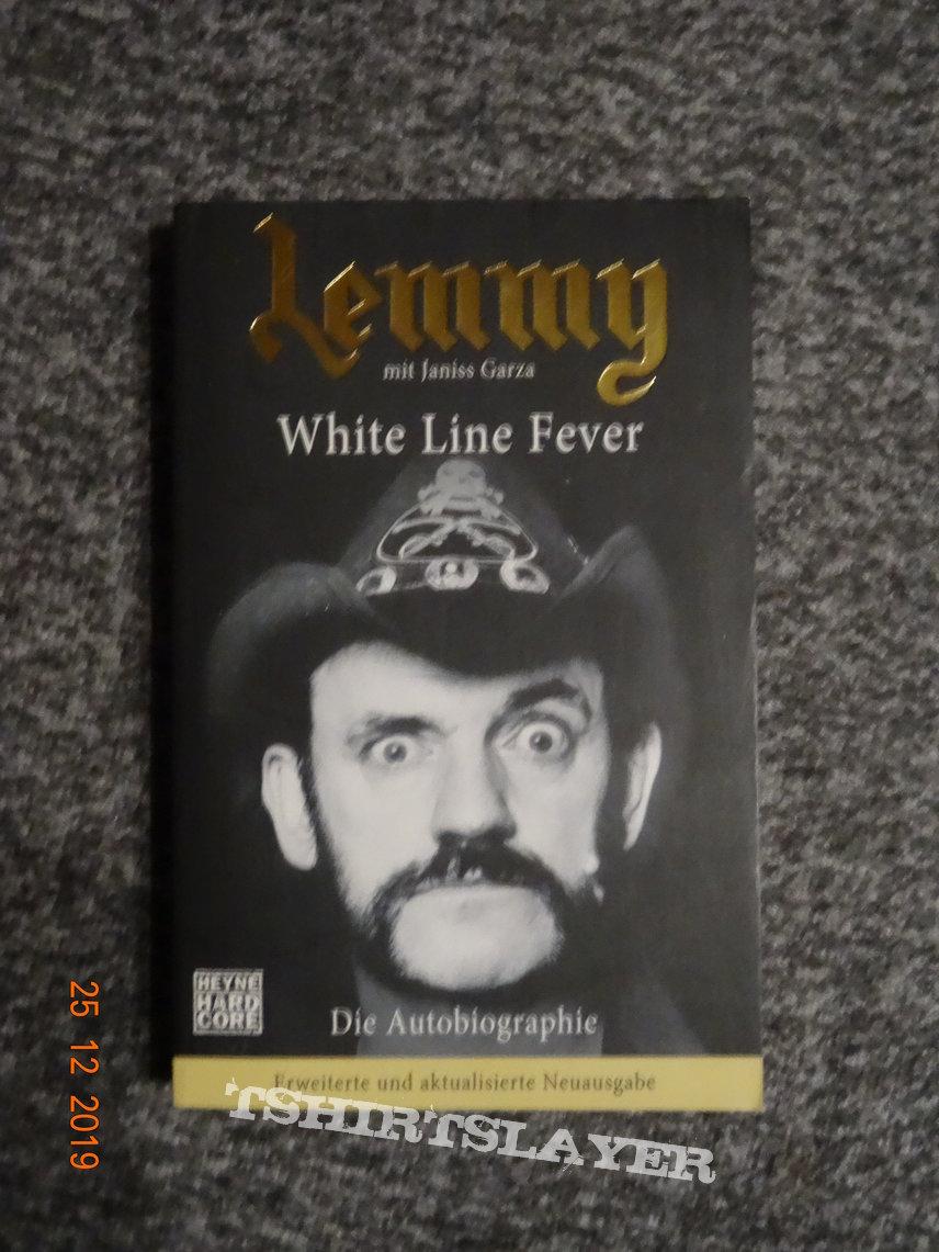 """Lemmy - """"White Line Fever"""" Book"""