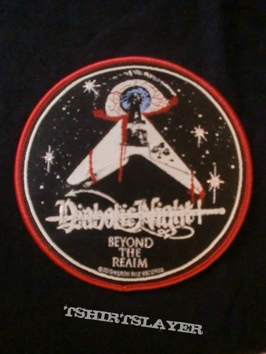 """Diabolic Night - """"Beyond The Realm"""" Patch Red Border"""