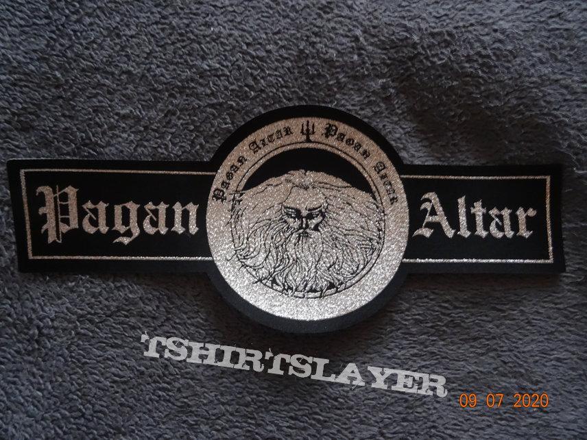 Pagan Altar - Big Logo Stripe