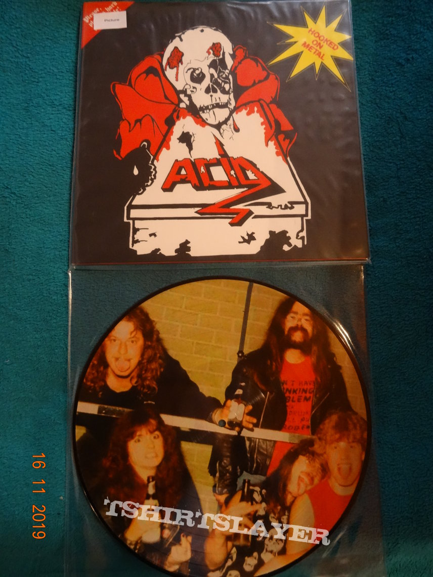 "Acid - ""Hooked On Metal"" Picture Vinyl"