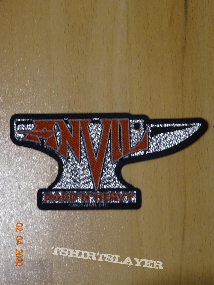 """Anvil - """"Hard 'N' Heavy"""" Shape Patch Glitter"""