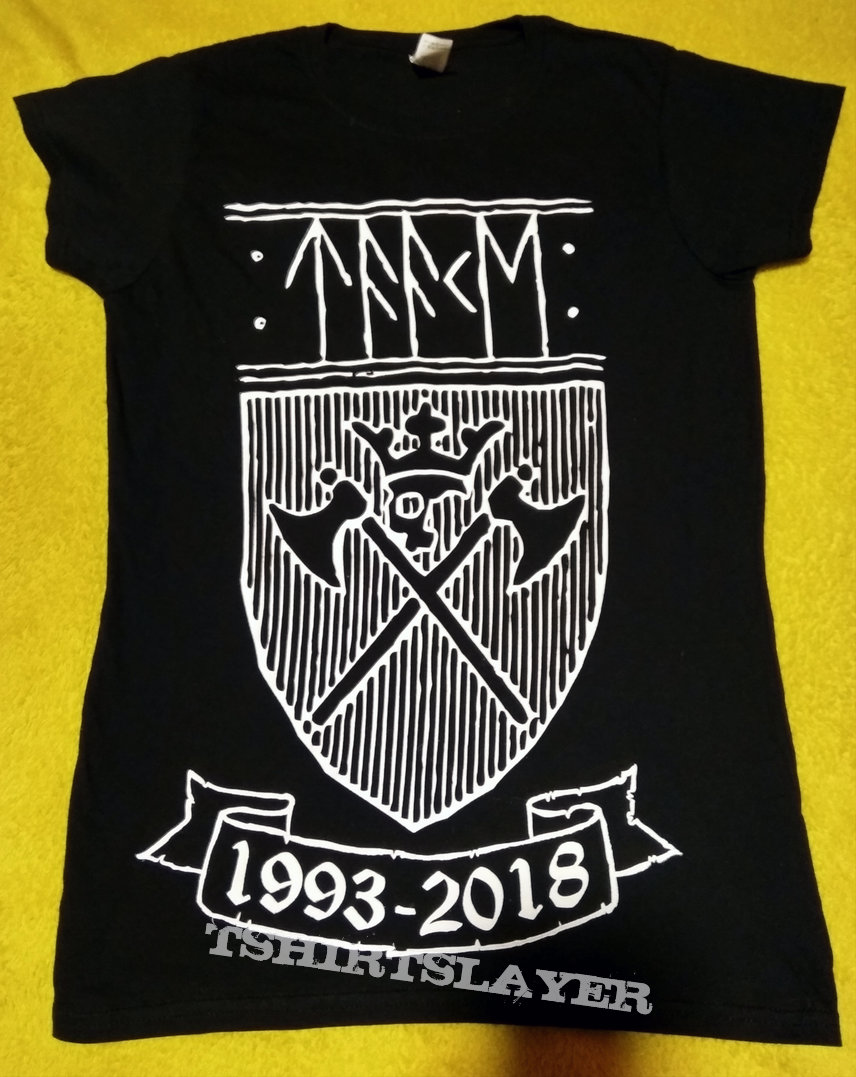 Taake - 25 years anniversary tour shirt