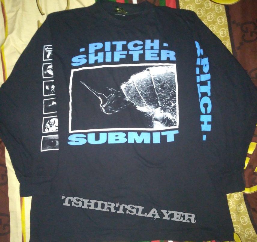 "Pitch Shifter ""Submit"" Earache 90s Longsleeve Original"