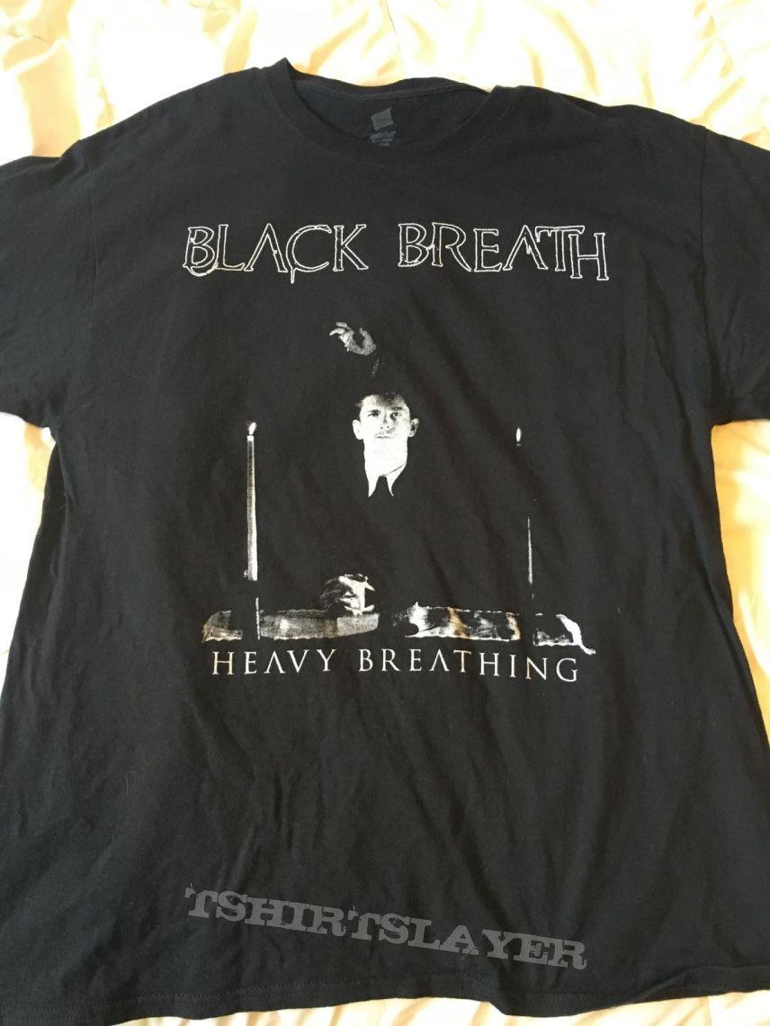 Black Breath Heavy Breathing shirt