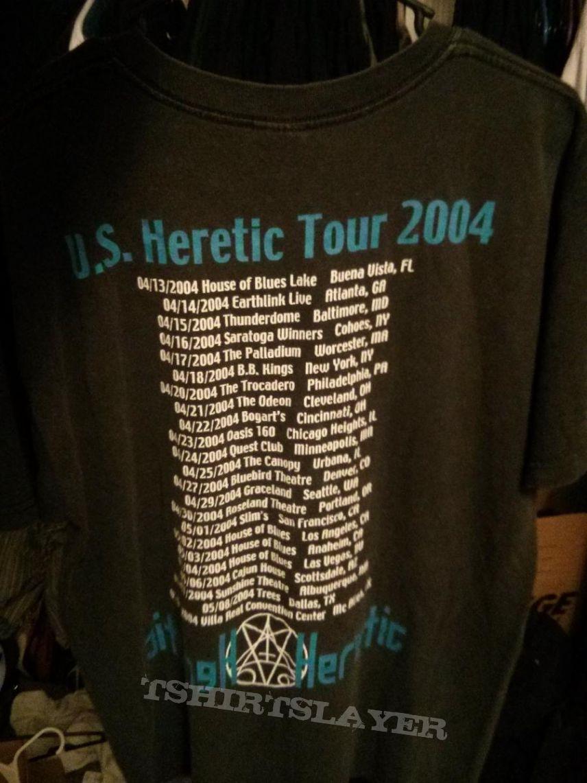 Morbid Angel US Heretic tour shirt