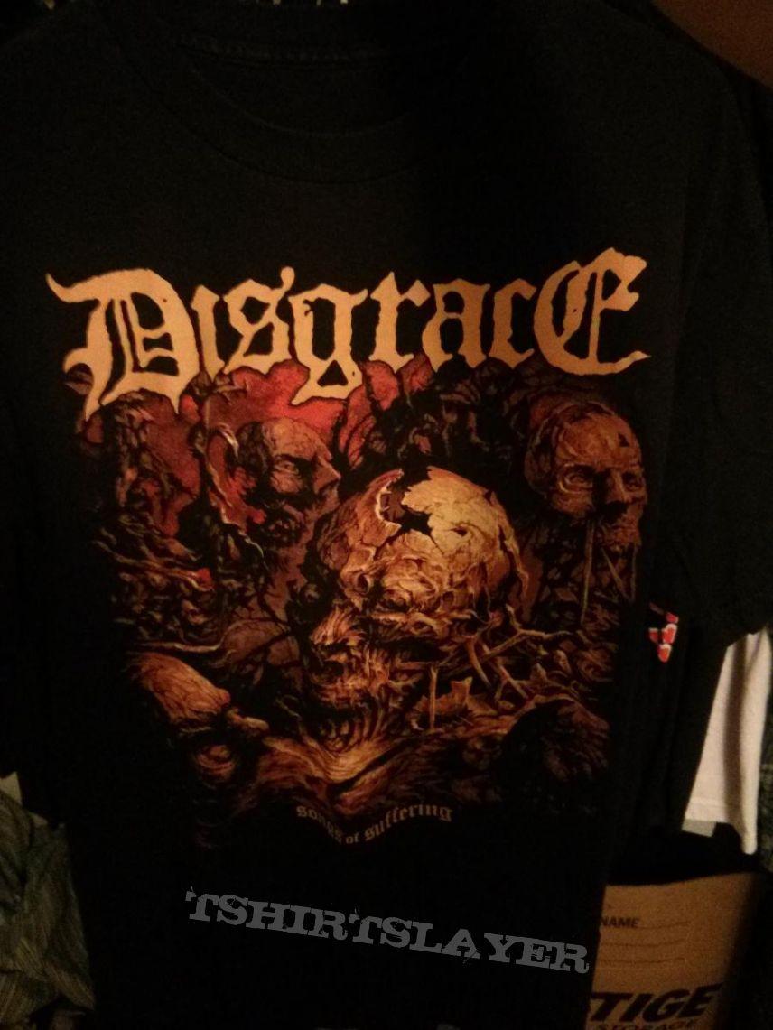 Disgrace Songs of Suffering shirt