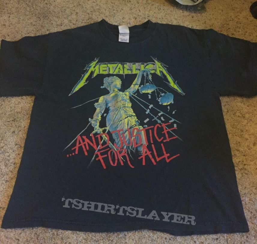 1994 Metallica And Justice For All shirt