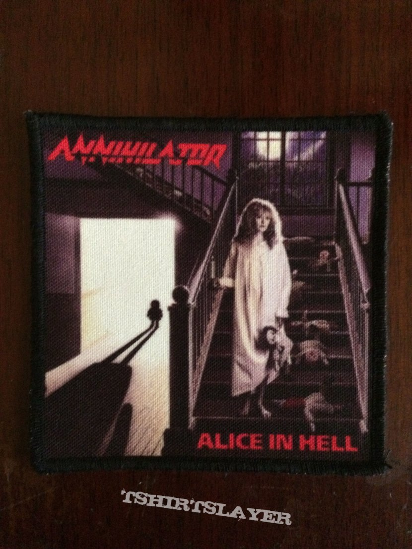 Alice in hell patch