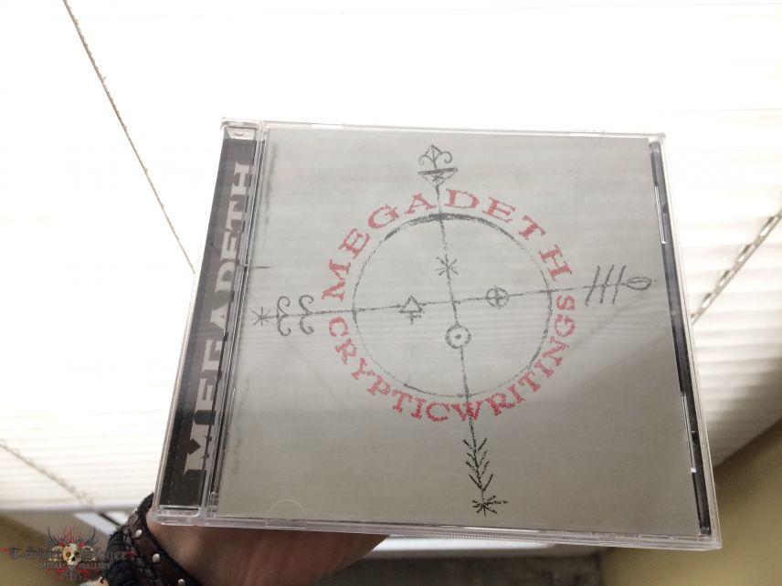 Megadeth-Cryptic Writings CD