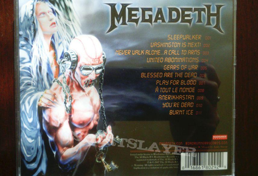Megadeth-United Abominations CD